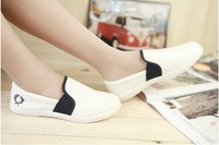 Cotton made Women casual shoes lounged girls lazy canvas shoes single shoes,free shipping