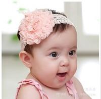 baby girl lace flower  Headband ,Girls Big flower hairband ,Girls headbands baby headbands 2014 Apparel & Accessories