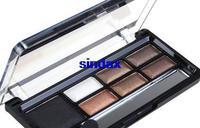 New Pro Warm Shimmer Smokey Nature Colour Palette Smoky Eyeshadow Pigment Eye Shadow Makeup Kit Drop shipping