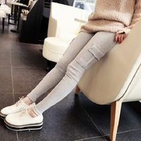 Free Shipping 2013 Autumn Maternity Clothing Maternity Pants Solid Color  Maternity Belly Pants Legging