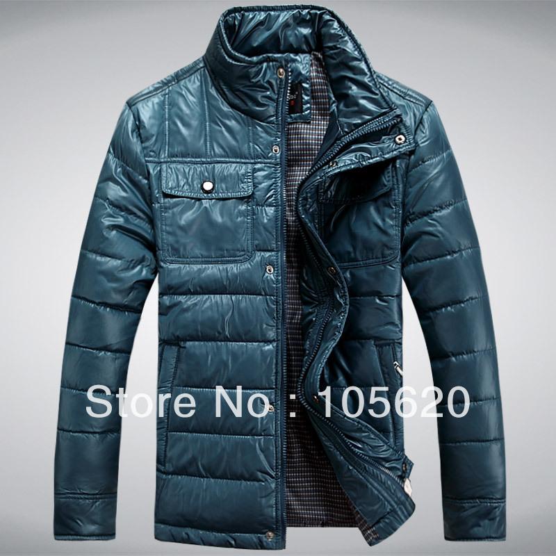случайные зимние куртки для мужчин утка