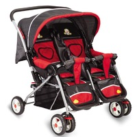 Twins baby stroller baby car umbrella buggiest folding gift