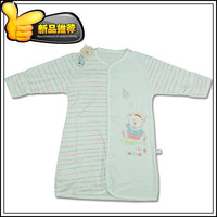 Bamboo fibre baby child sleepwear spring and summer cotton 100% ecgii robe baby