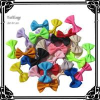 Free shipping!400pcs/lot   mini  hair bow  ribbon bow   can mixed color