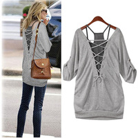 Plus size Women Clothing Brand New 2014 Spring Casual Loose Twinset Half Sleeve t-shirt women Top Big Size XL XXL XXXL Sale