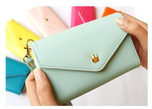 universal lady bag money wallet leather
