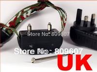 5pcs/lot 20lv RECHARGEABLE sound ,vibration,static stimulus  Dog Bark Control Collar anti bark collar Free shipping