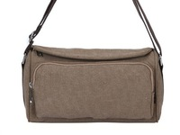 Fashion Green Canvas Messanger Bag Unsex Shoulder Bag,free shipping