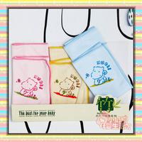 Nobby 3 infant bamboo fibre towel squareinto handkerchief bib ultra soft