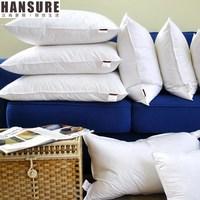 Derlook luxury feather pillow core goose feather cushion core pillow core coverspun 7070
