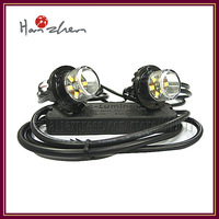 VS-S62 LED Hide A Way (2 heads),  1W LED headlight, 100% Waterproof, 25 flash patterns warning light