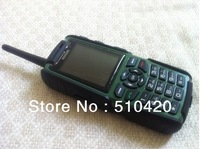 A8F Walkie Talkie TV Mobile Phone Dual Sim Big Battery Long Standby outdoor phone 4 colors opotion Free Russian Keyboard