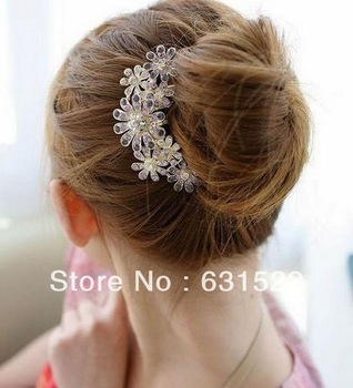 Min.order is $10 (mix order) 2014 Fashion Noble Elegant Lovely Hair Band Hair Clip Hair Jewelry!  Free hipping