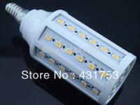 2014 Hot Sale Real Ce Cqc Rohs Chandelier E14 5630 60 Led 16w 1800lumen 220v Ac Bulb Cool Warm Warranty 2 Years -- Free Shipping