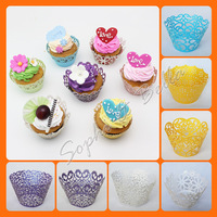 Assorted 120 pcs Cake Decorations Cup Cake Wrappers