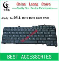 Wholesale 10pcs/lot Laptop Keyboards For DELL D610 D510 6000 9200 9300 9000 D810