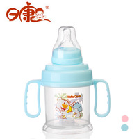 Free Shipping Amphibious Baby Water Cup With Standard Caliber Nipple 200ml Child Baby Bottle