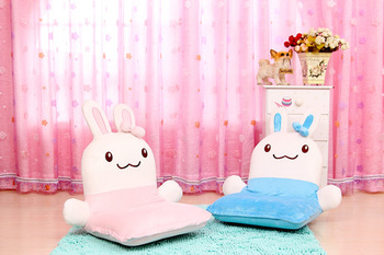 HOT SALE! childen's chair tatami child sofa cartoon rabbit small multi-function folding chair sofa chair removable and washable