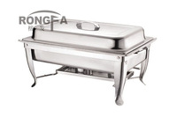 stainless steel chafing dish buffet dish square shape
