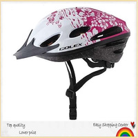 2014 best saling.NEW  Red floral Women's best love bicycle helmet, mountain bike helmet,out sport helmet free shipping
