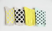 Free shipping Female Cotton Socks Women Dot Socks Elder Girl Socks 20pcs/lot