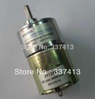 ZGB37RG 24V DC 600 RPM High Torque Gear-Box Electric Motor NEW Free Shipping