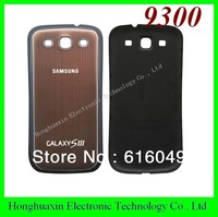Dark Brown color For Samsung i9300 battery back cover Aluminum Metal replacement for s3, free shipping