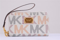 Top quality Luxury Classic michael wallet multifunction phone famous designer women handbag purse For iphone 4 4s 4g 5 5g
