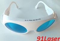 He-Ne laser safety eyewear (632.8nm) O.D 4+, Visible light trans. 35%