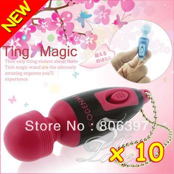New 10 Vibrators Waterproof Sex Toys Mini Vibration Sexy Products AV Magic Wand Massager Hot Selling Adult Sex Toy