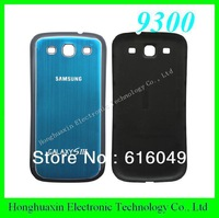 Light blue color For Samsung i9300 battery back cover Aluminum Metal replacement for s3, free shipping