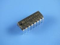 50pcs DIP CD4017 BD / decimal counter (ring) / DIP-16