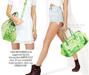 2013 new European and American famous brand handbags designer transparent women bag of candy jelly bag diagonal shoulder bag
