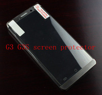 Free Shipping Only 1.2 Hight Quality 5pcs/lot Jiayu G3 G3S Screen Protector Clear Screen Guard Transparent Film