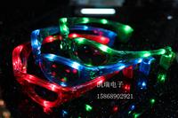 0089 women's flash glasses led glasses flash mask halloween props