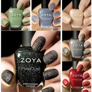 Zoya 2013 spring fairy pixie dust zp656-zp661 series