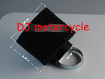 two layer foam dirt bike air filter  Wholesale 35mm pit bike air cleaner  Cheap motocross engine air filters 49cc 110cc 125cc