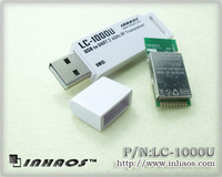 LC-1000U USB 2.4GHz Full duplex 57.6Kbps wireless RF UART Module,