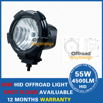 8 Pcs 4inch HID driving light 12V24V35W 3000lumens HID work light hid head light HID offroad light for car , truck , forklift
