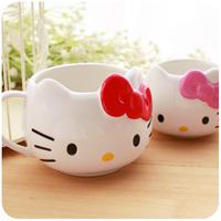 Hearts stereo cute of hellokitty  ceramic cup mug coffee\milk cup
