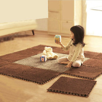 Free Shipping Japanese Soft Living Room Bedroom Anti-slip Carpet Play Mats Children Baby Crawl Cushion Multicolor For Home Rugs