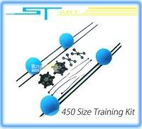ST Model Carbon Fiber Training kit rc helicopter Landing gear anti-crash for trex 450 ST450V2 8005 DH9053 helicopter  gift
