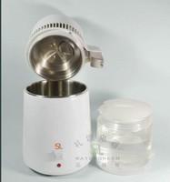 dental stainless steel  distiller  water machine  Glass bucket  Stainless steel cover 4L  110V/220V