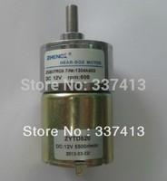 Free Shipping 12V DC 600 RPM High Torque Gear Box Motor NEW ZGB37RG