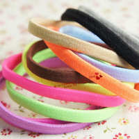 100 pcs/lot.Solid candy color headband/Elastic hair band/Hair accessories/Headwear for girls women.Wholesale.Quality.TWF20M100
