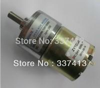 Permanent Magnet 24V DC 200 RPM High Torque Gear Box Motor NEW ZGB37RG Free Shipping