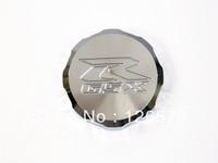 CHROME FRONT BRAKE FLUID CAP For Suzuki GSXR 1000 2001-2012 GSX-R 600 750 1992-2011