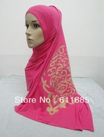 S411 new style cotton scarf with arabic words,fast delivery,free shipping