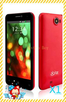 Original Brand Phone MTK6589 Quad Core Android 4.2 4.5 inch HD 1G RAM 8.0M camera Dual Sim Smart Phone XYZ X1 cheap phone