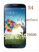 Cheapest! I9500 S4 android4.0 smartphone MTK6575 GPS+3G+wifi 960*540 IPS screen cellphone
